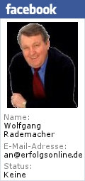 Wolfgang Rademacher auf Facebook