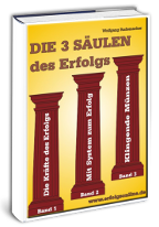 Cover: »Die 3 Säulen des Erfolgs«