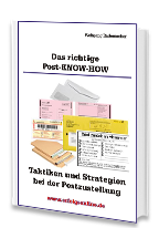 Cover: »Das richtige Post-Know-How«