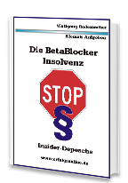Cover: »Die BetaBlocker-Insolvenz«