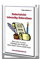 Cover: »Federleicht lebendig Schreiben«