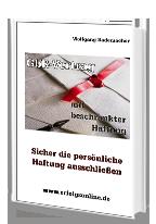 Cover: »GbR-Vertrag mit beschränkter Haftung«