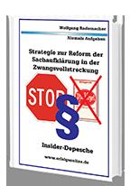 Cover: »Strategie Sachaufklärung Zwangsvollstreckung«