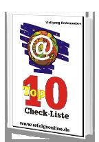 Cover: »Suchmaschinen-Optimierung mit der Top10-Checkliste«